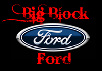 Big Block Ford Crankshafts